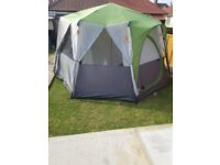 Coleman cortes octagon 8 tent great condition used once. Selling as wanting to purchase a caravan.