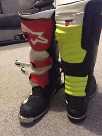 Fox tec 1 motorcross boots Honda ktm Yamaha