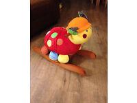 Mamas & Papas Rocking Lotty Ladybird - hardly used!!