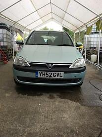 For sale Vauxhall corsa 1.2 low mileage