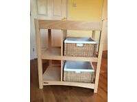 mamas & papas changing station and cot
