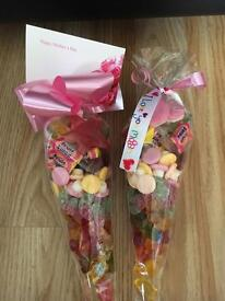 Sweet cones ideal for mothers day