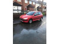 Peugeot 206 ONLY 35.000 miles one lady owner 1 .1 litre
