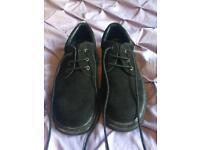 Topshop Black Lace Up Shoes