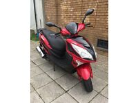 2015 LEXMOTO FMS 125cc - LOW MILEAGE - GOOD CONDITION- MOPED £849