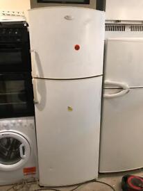 Whirlpool Tall Fridge Freezer ( Fully Working & 90 Days Warranty)
