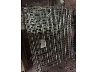 Heavy Duty Large Galvanized Container - METAL -