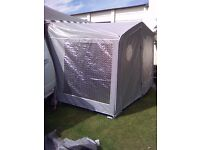 Isabella 250 tall grey awning annex