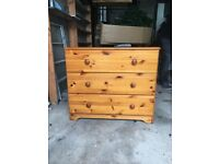 Sold - Pine Chest of drawers x 2