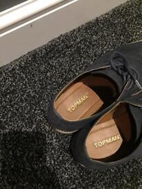 Size 7 topman shoes