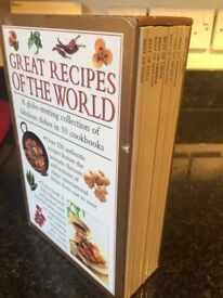 Recipes of the world - 10 books £5