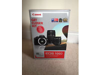 Canon EOS 100D DSLR Camera with 18-55mm & 75-300mm Lenses