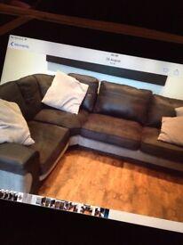 Mint condition corner sofa