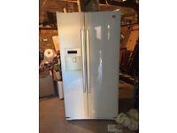 Sold pending pick up LG American Style fridge freezer in White