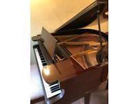 Beautiful Challen 5' Baby Grand Piano with Piano Chair in Good Condition