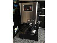 Classic gaggia coffee machine (brand new)