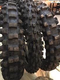 Dunlop enduro tyres brand new