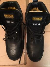DeWalt many steel toe
