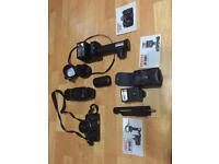 Pentax super-A 35mm film camera kit / set