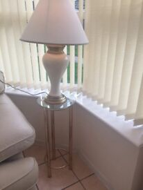 Conservatory lamp tables