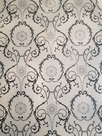 Caselio Damask wallpaper 1x roll