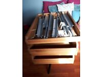 Ikea Komplement 3x shallow fronted drawers for 50x 56 x201 wardrobe
