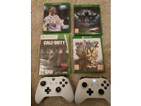 Xbox One S White (500GB) with 3 games and 2 Controllers - UPDATED PRICE