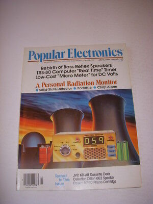 Popular Electronics Magazine  January 1980  Trs 80 Computer Real Time Timer