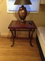 2 living room end tables