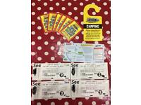Carfest North weekend camping tickets 2 Adult & 2 Child