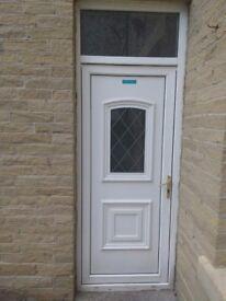 PVC white door good condition