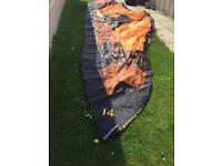 Airush DNA (2014/15) 14 metre Kitesurfing kite