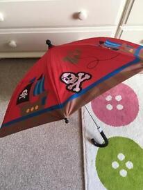Toddler pirate umbrella