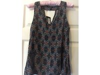 ATMOSPHERE PATTERNED TOP UK SIZE 10