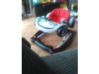 2 in 1 baby rocker and walker