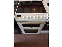 TRICITY BENDIX 60cm White Electric Cooker - Double Oven & Grill - White Colour