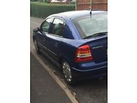 For sale Vauxall Astra 2001. Genuine reason for sale.