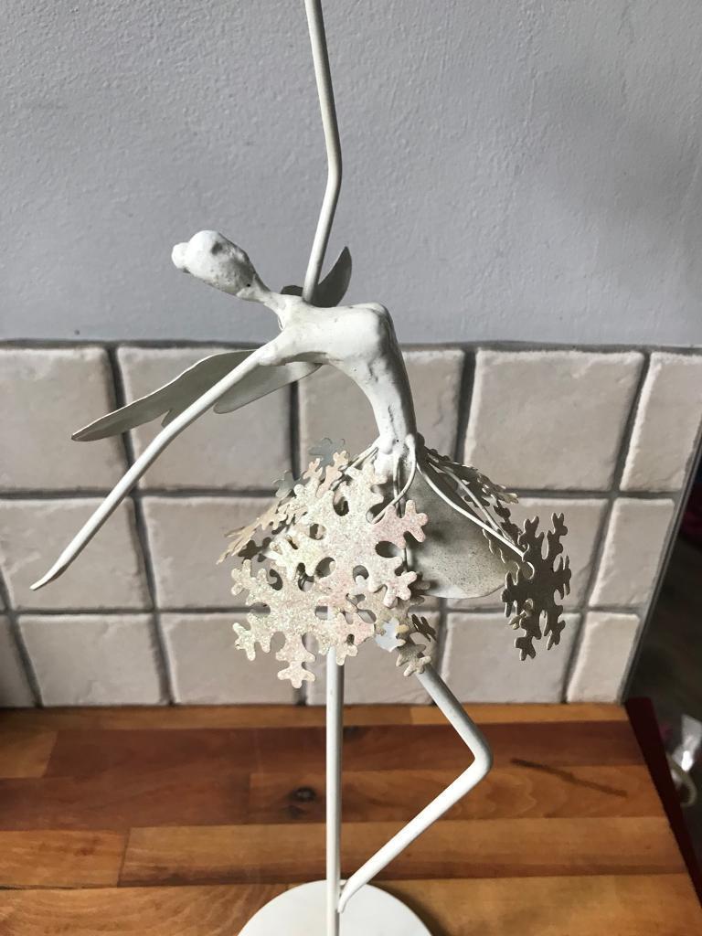 Lovely Ornate Dancer Figure Candle Holder