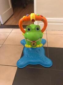 Baby frog fun jumper