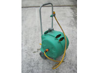 Hozelock Compact Cart with 30m Hosepipe