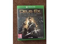 new deus ex mankid divided day one edition xbox one