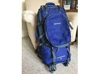 65 litre Karrimor rucksack