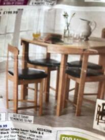 Excellent condition table and chairs