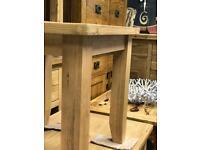 Beautiful oak lamp table