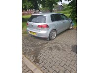 Vw golf 1.6 tdi silver damaged