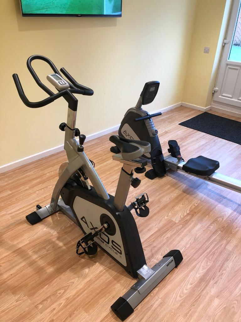 Exercise Bike & Rowing Machine
