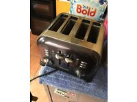 *sold* Morphs Richards four (x4) slice toaster, extra settings