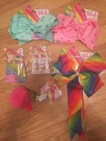 JoJo bow large bundle RRP £57 REDUCED FOR QUICK SALE £15