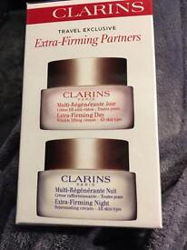 CLARINS DAY AND NIGHT CREAM DUAL PACK