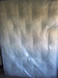 5ft king size mattress. 9.5 inch thick, deep quilted, dual sided, ortho grade. Free delivery